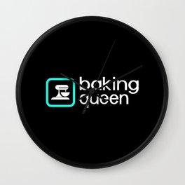 Baking Queen (Blue) Wall Clock