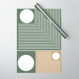 Stylish Geometric Abstract Wrapping Paper