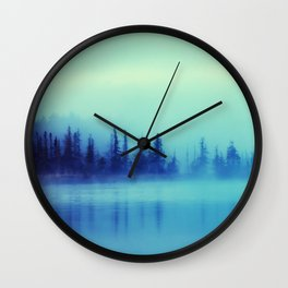 Morning Blues Wall Clock