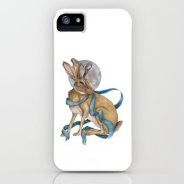 Tie Me To The Moon iPhone Case