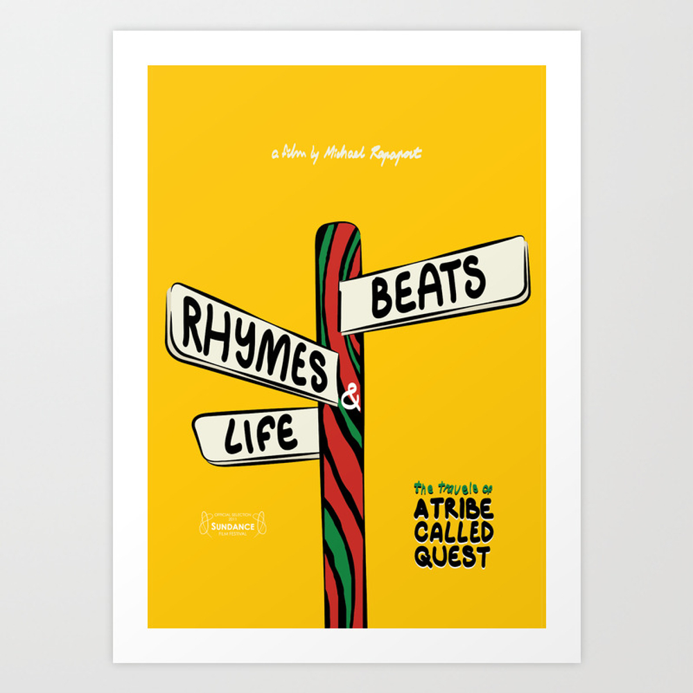 A Tribe Called Quest - Beats, Rhymes & Life, The T… Art Print by Shadesofblueprints PRN4584308