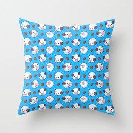 Cute Poros Throw Pillow