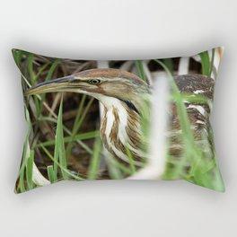 American Bittern - Take One Rectangular Pillow