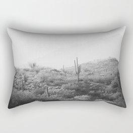 Wild West II - Black & White Version Rectangular Pillow