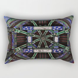 Summer in the palace. Rectangular Pillow