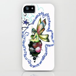 HOLD ON TO YOUR DREAMS  iPhone Case