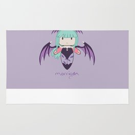 Fight Like a Girl - Morrigan  Rug