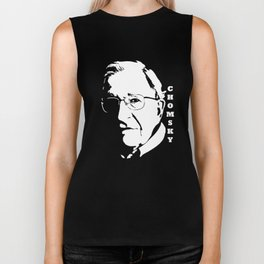 CHOMSKY FAN CLUB Biker Tank