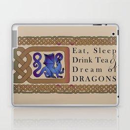 Eat, Sleep, Tea & Dragons Laptop & iPad Skin