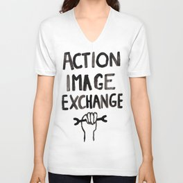 Action Image Exchange Unisex V-Neck