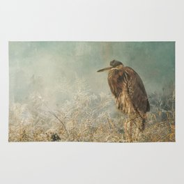 North Carolina Heron Rug