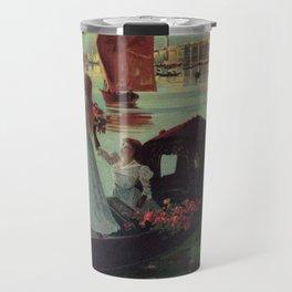 Paris Venice Victorian romantic travel Travel Mug