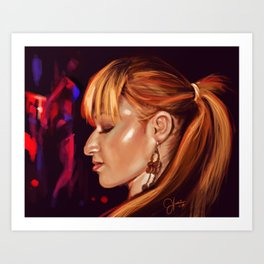 Nightclub Art Print