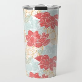 Lotus Carousal Travel Mug