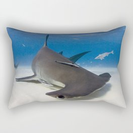 Turning on a Dime Rectangular Pillow