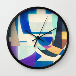 Auguste Herbin in Leblon Wall Clock