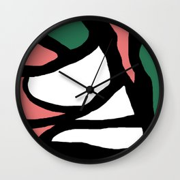 Abstract Painting Design - 4 Wall Clock