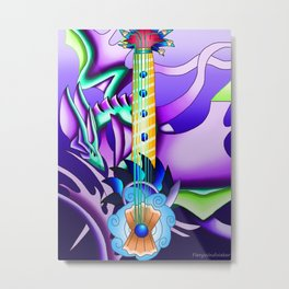 Fusion Keyblade Guitar #82 - Leviathan & Mysterious Abyss Metal Print