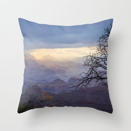 Breaking the Silence Throw Pillow