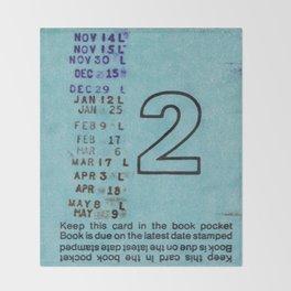 Ilium Public Library Card No. 2 Throw Blanket