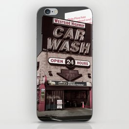Intrepid Car Wash iPhone Skin