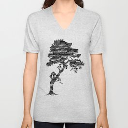 Bodhi Tree Unisex V-Neck