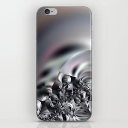 Complexity under smooth simplicity - Abstract play with focus iPhone Skin