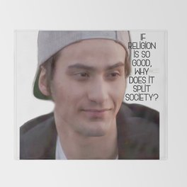 SKAM - Yousef Acar -  If religion is so good, why does it split society? Throw Blanket
