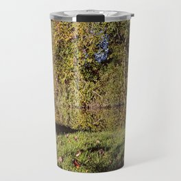 Autumn Oxford Canal Reflections Travel Mug