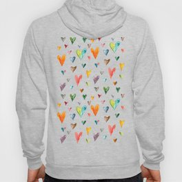 Multiculti Hearts Hoody