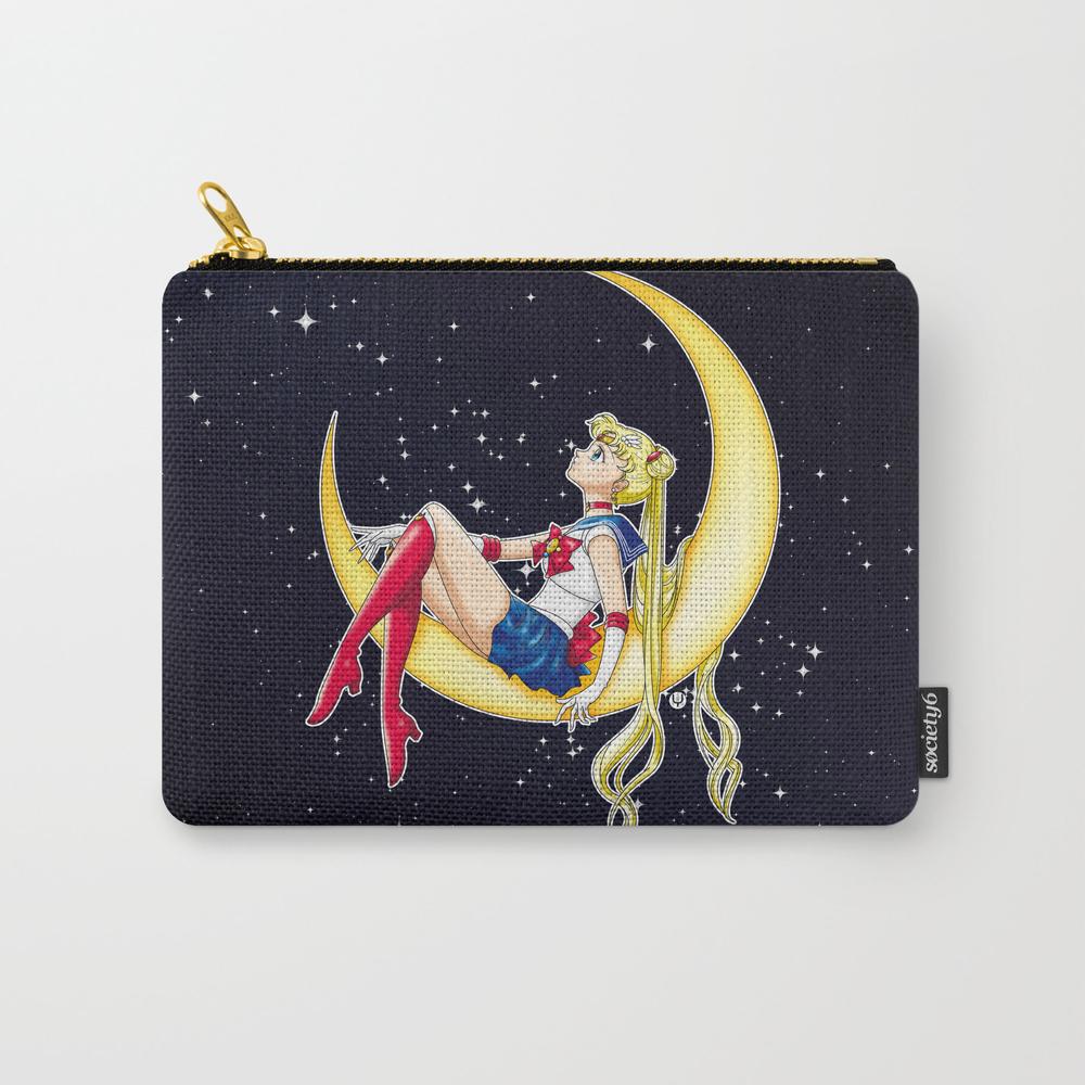 Pretty Guardian Sailor Moon Carry-all Pouch by Alphavirginis CAP2608574