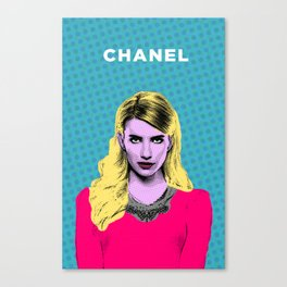Scream Queens - Meet the Chanels  Canvas Print