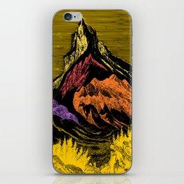 The Acid Peak of Tempests iPhone Skin