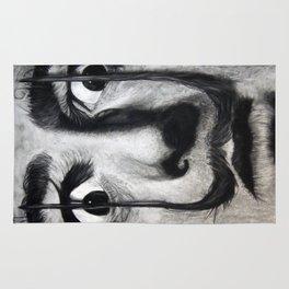 I am drugs ( Salvador Dali ) Rug