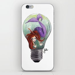 Mermaid Bulb iPhone Skin