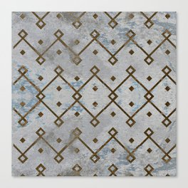 Southwestern Tribal Design Pattern Canvas Print