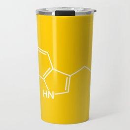 Serotonin Molecule Travel Mug