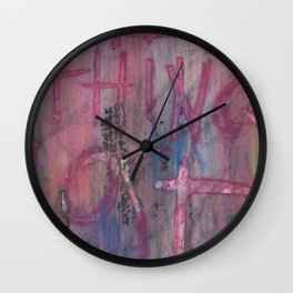 EVERYTHING LOST Wall Clock