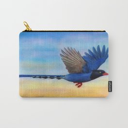 Taiwan Blue Magpies (2) Carry-All Pouch