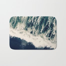 The Ocean Roars Bath Mat