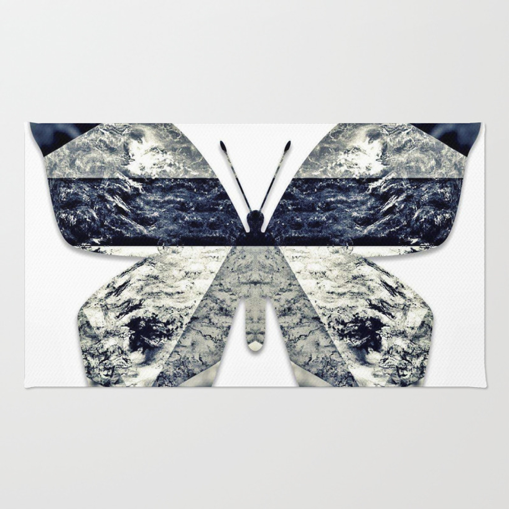 The Butterfly Effect Rug by Photogenomics RUG8560485