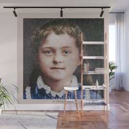 Young St. Therese of Lisieux Wall Mural