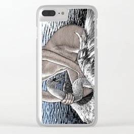 asc 677 - Les ailes du désir (The swain in disguise) Colored version Clear iPhone Case