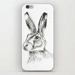 Hare 4 iPhone Skin