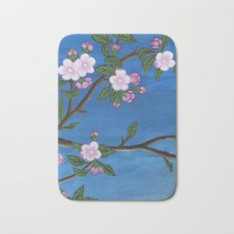 Blossoming Tree Bath Mat