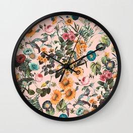 EXOTIC GARDEN XVIII Wall Clock