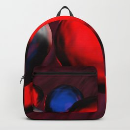 Blue and red cells flowing in the vein - 3D rendering Backpack