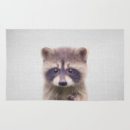 Raccoon - Colorful Rug