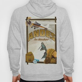 """Andes """"For Adventure!"""", Hoody"""