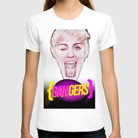 miley T-shirts featuring BANGERZ // MILEY by Adam Peerce